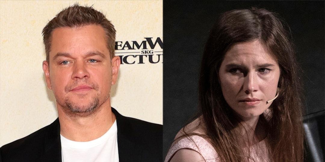 """Amanda Knox Slams Matt Damon's Stillwater Film For Damaging Her """"Reputation"""" - E! Online.jpg"""