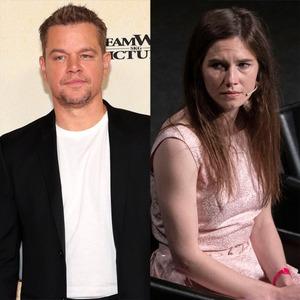 Amanda Knox, Matt Damon