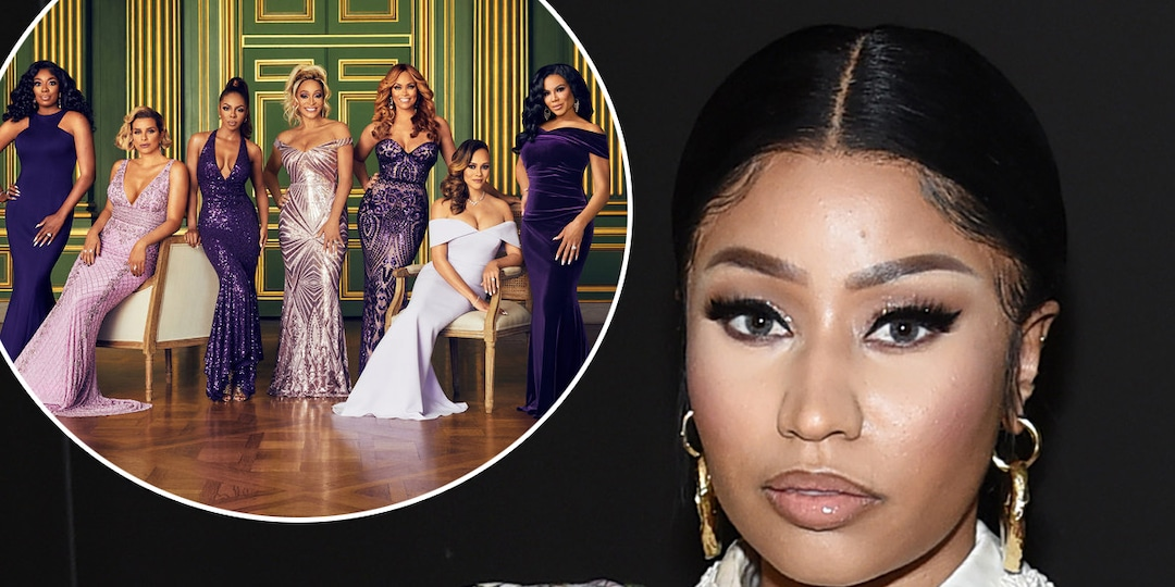 Here's Your First Look at Nicki Minaj at The Real Housewives of Potomac Reunion - E! Online.jpg
