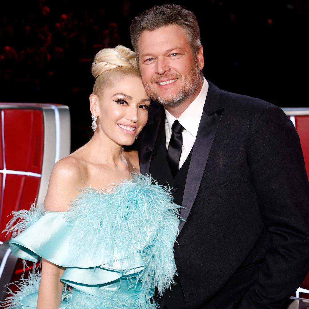 Gwen Stefani's Sons Look So Grown Up in Sweet Wedding Photo With Stepdad Blake Shelton – E! Online