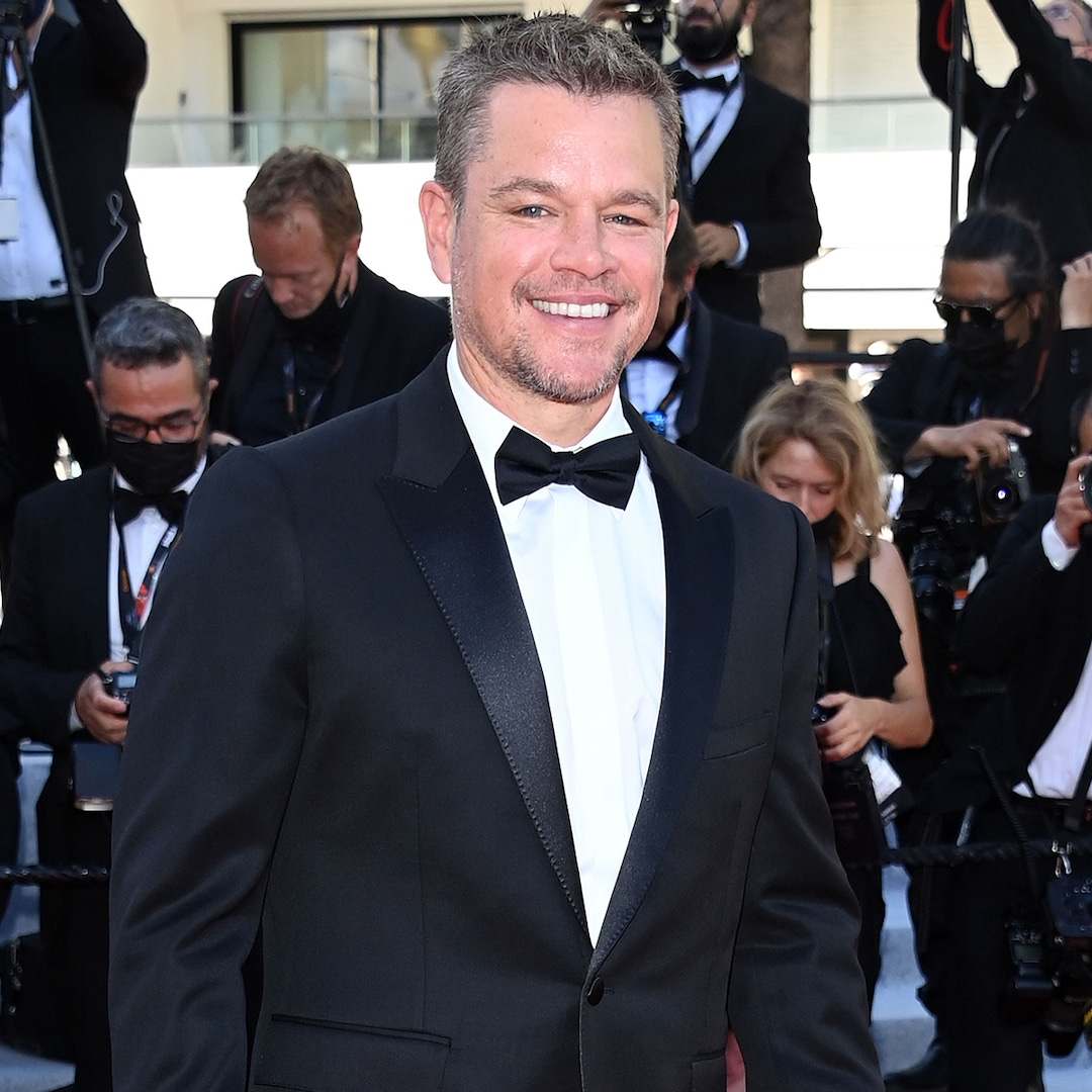 Matt Damon Says This Family Member Is His Toughest Critic
