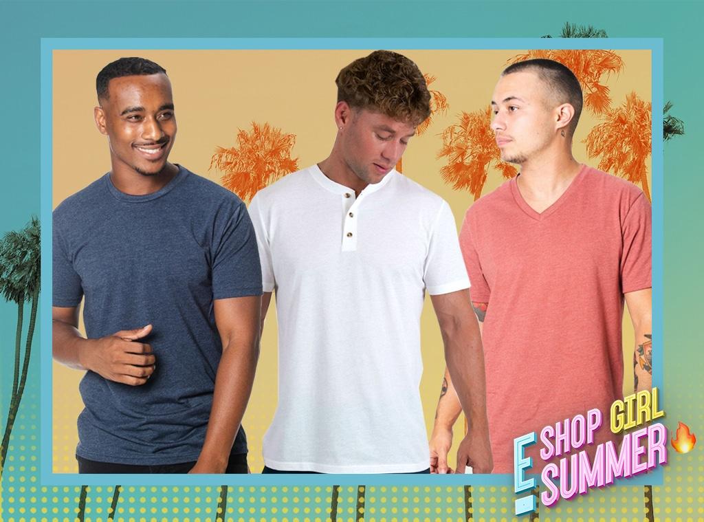 ECOMM, Shop Girl Summer Fresh Clean Tees