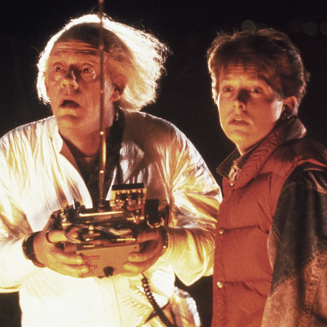 Great Scott! Michael J. Fox and Christopher Lloyd Just Had a Back to the Future Reunion