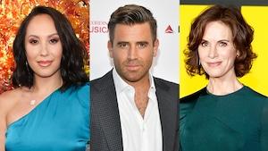 Cheryl Burke, Jason Wahler, Elizabeth Vargas