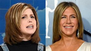 Vanessa Bayer, Jennifer Aniston, Saturday Night Live