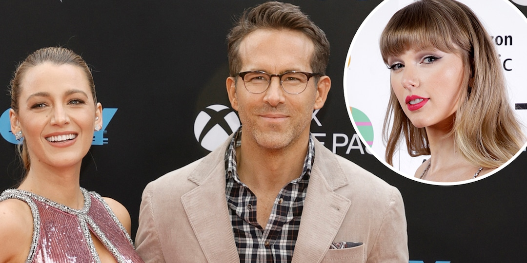 How Ryan Reynolds and Blake Lively Feel About Taylor Swift Using Daughters' Names in Her Music - E! Online.jpg