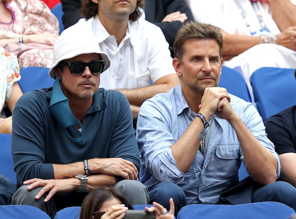 Brad Pitt, Bradley Cooper, 2021 US Open