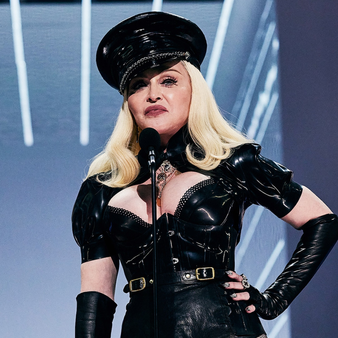 Madonna Flashes the Audience in No-Holds-Barred Jimmy Fallon Interview – E! Online