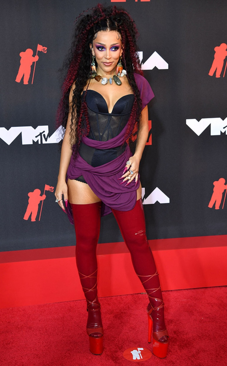 Doja Cat, 2021 MTV Video Music Awards, Red Carpet Fashion, Arrivals
