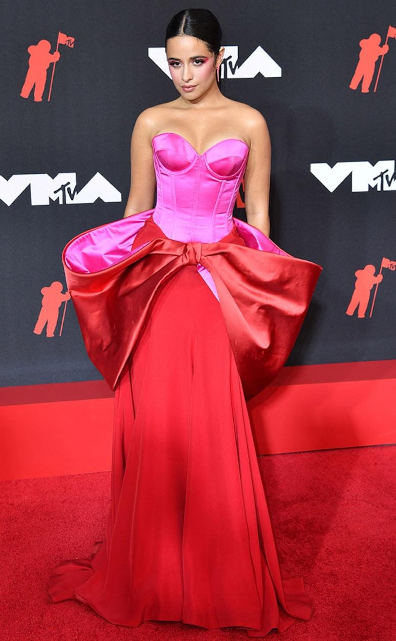 Camila Cabello, 2021 MTV Video Music Awards, Risky fashion at VMAs