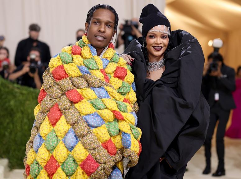 ASAP Rocky, Rihanna, 2021 Met Gala, Red Carpet Fashion, Met Gala Couples