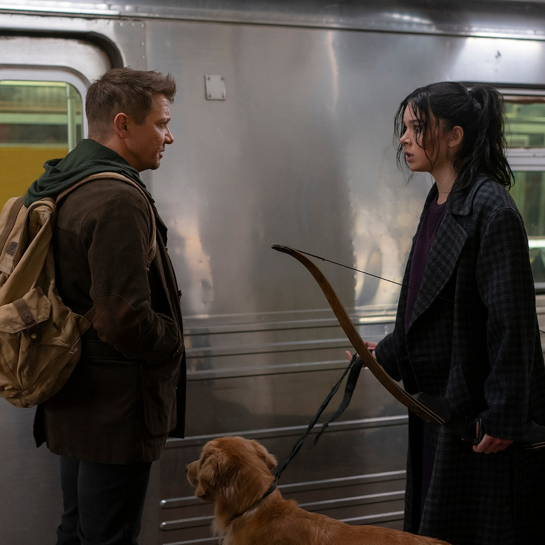 Hawkeye Tries to Make It Home for Christmas in First Trailer for Disney+ Series