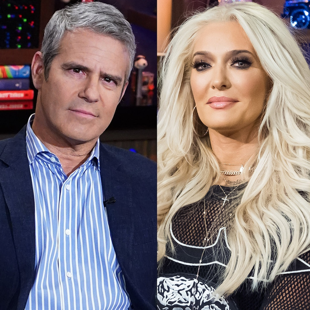 Andy Cohen Shares Dramatic Details About Erika Jayne's