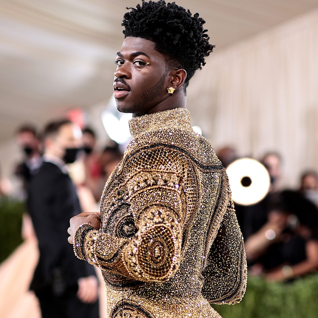 Photos from Lil Nas X Rules the 2021 Met Gala With Epic Outfit Changes.jpg
