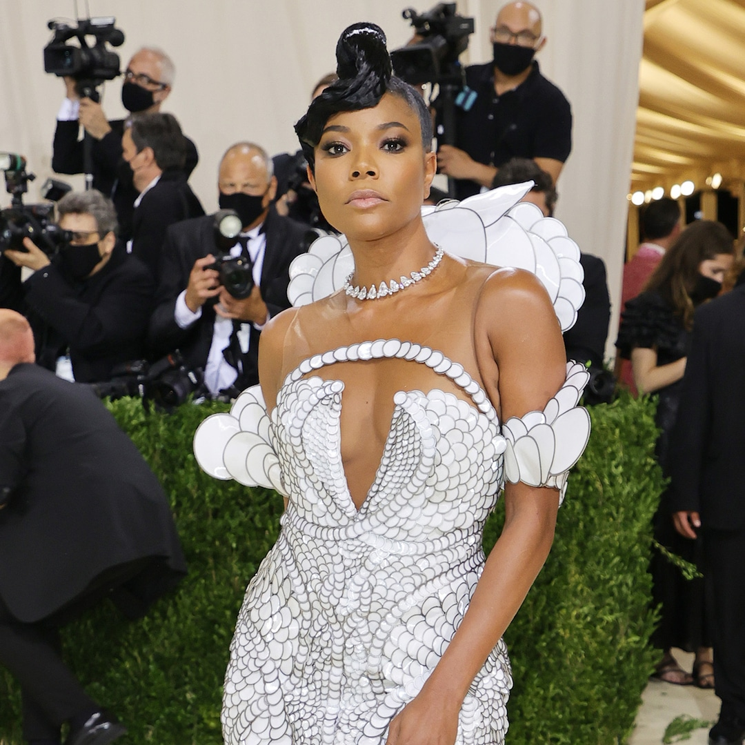 You Won't Believe How Many Hours It Took to Create Gabrielle Union's 2021 Met Gala Dress