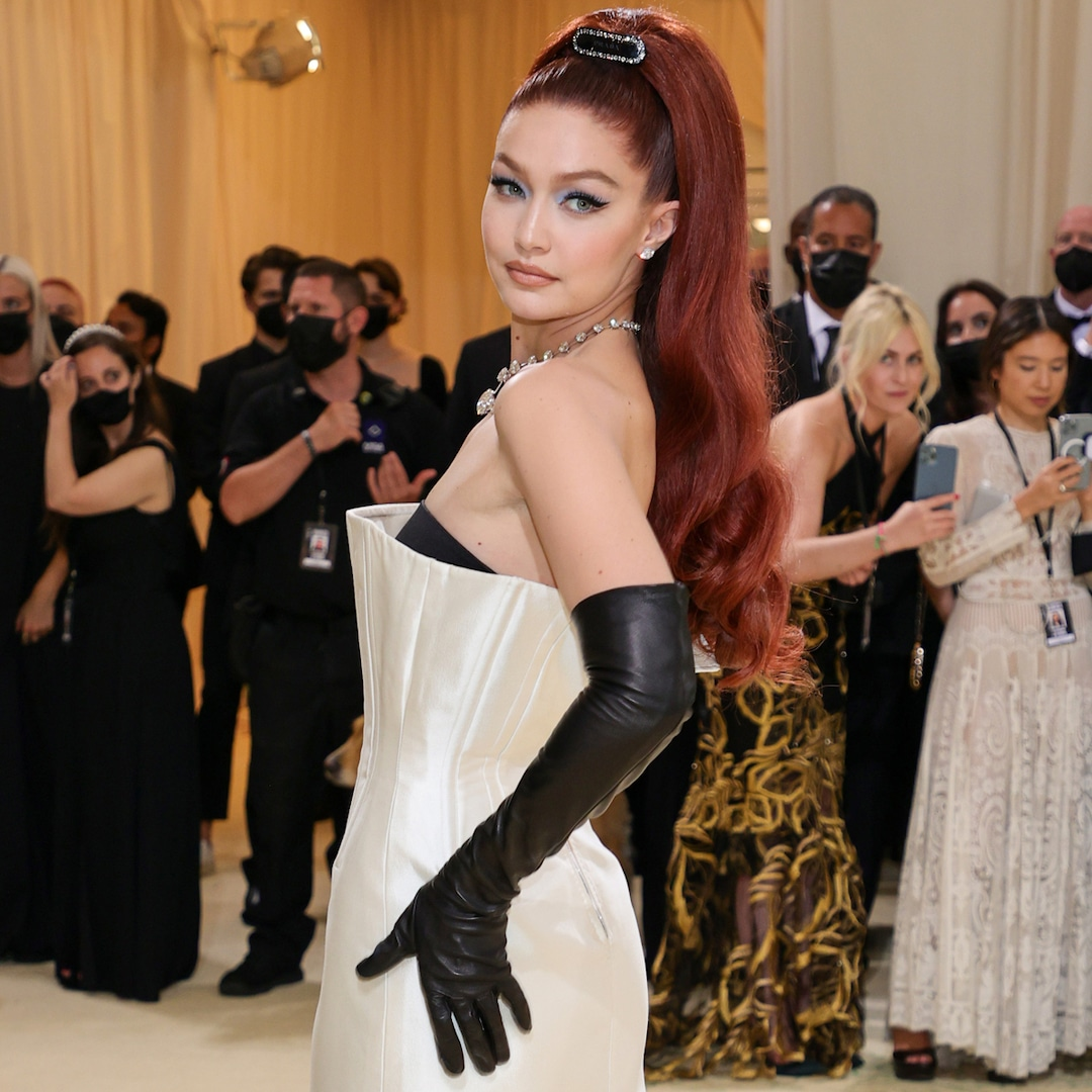 If There's One Met Gala Transformation to See, Let it Be Gigi Hadid as a Fiery Redhead