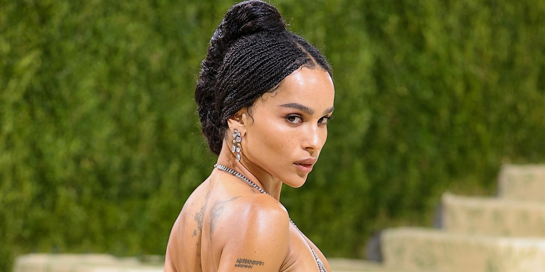"""Zoë Kravitz Has the Perfect Response to Claim She Was """"Practically Naked"""" at the Met Gala - E! Online.jpg"""