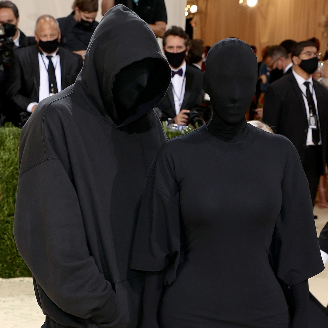 Did Kanye West Attend the 2021 Met Gala With Kim Kardashian? The Truth About Her Masked Date - E! Online - Forbes Alert
