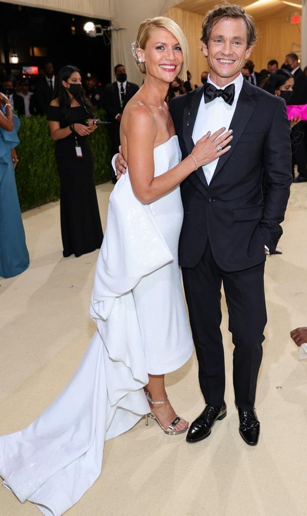 Claire Danes, Hugh Dancy, 2021 Met Gala, Red Carpet Fashion, Arrivals, Couples