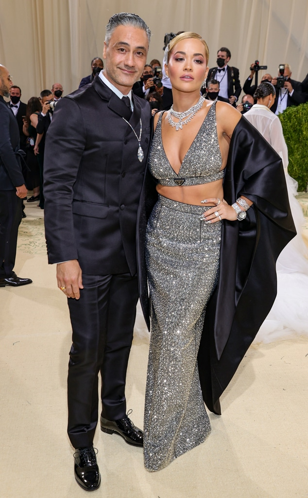 Taika Waititi, Rita Ora, 2021 Met Gala, Red Carpet Fashion, Met Gala Couples
