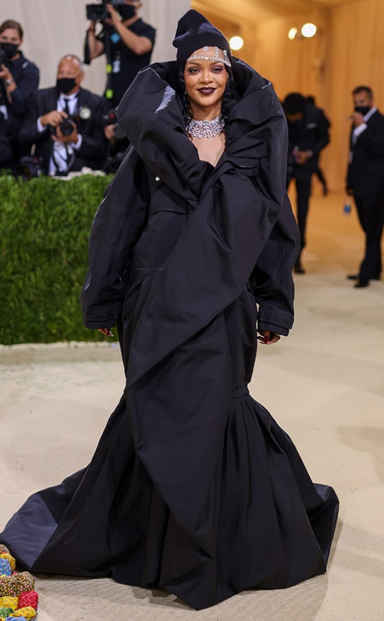 Rihanna, 2021 Met Gala, Red Carpet Fashion, Arrivals