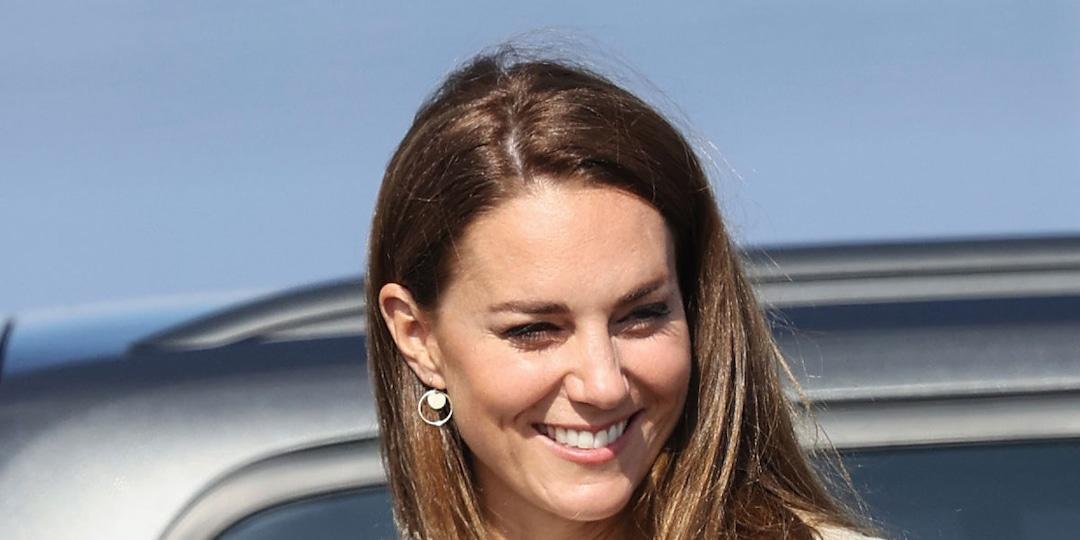 Kate Middleton Channels Her Inner Bond Girl for Golden No Time To Die Red Carpet Look - E! Online.jpg