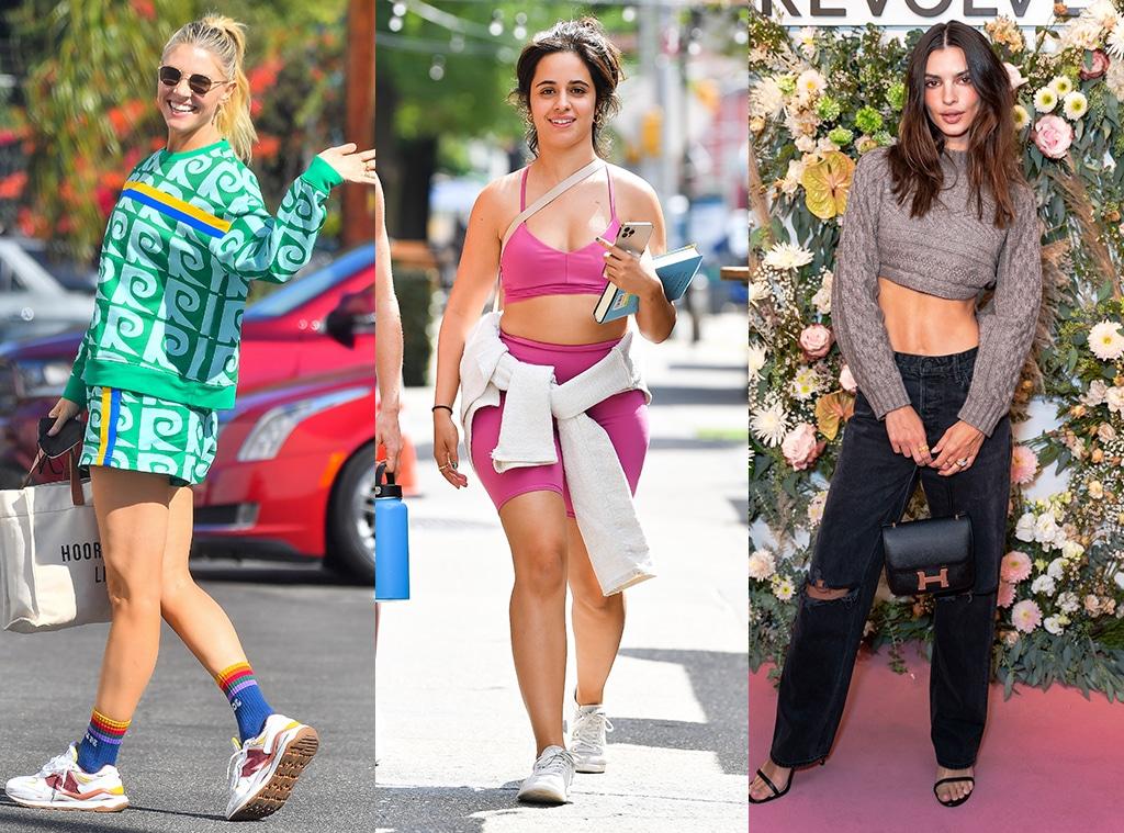 Amanda Kloots, Camila Cabello, Emily Ratajkowski, e-comm, This Week in Celeb Style