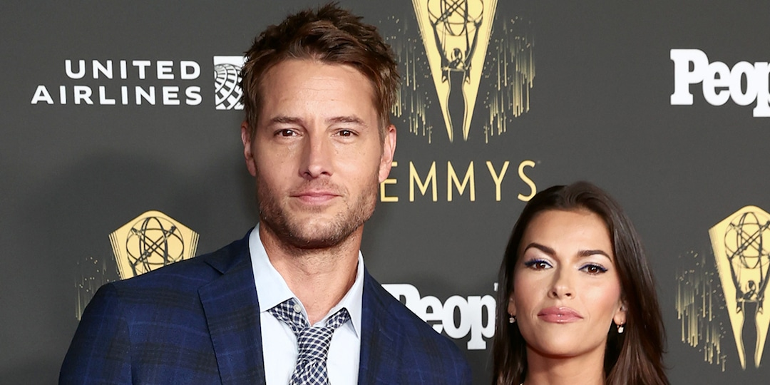This Is Us' Justin Hartley and Wife Sofia Pernas Turn Heads in Matching Blue Outfits - E! Online.jpg