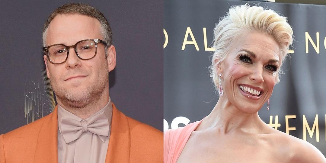 "Seth Rogen Mispronouncing Hannah Waddingham's Name Is the ""Adele Dazeem"" Moment of the 2021 Emmys - E! Online.jpg"