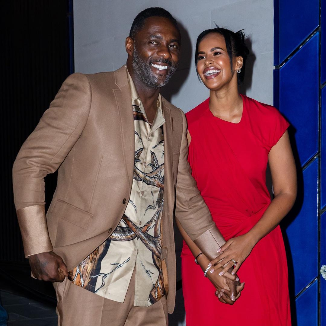 Idris Elba & Sabrina Dhowre Elba
