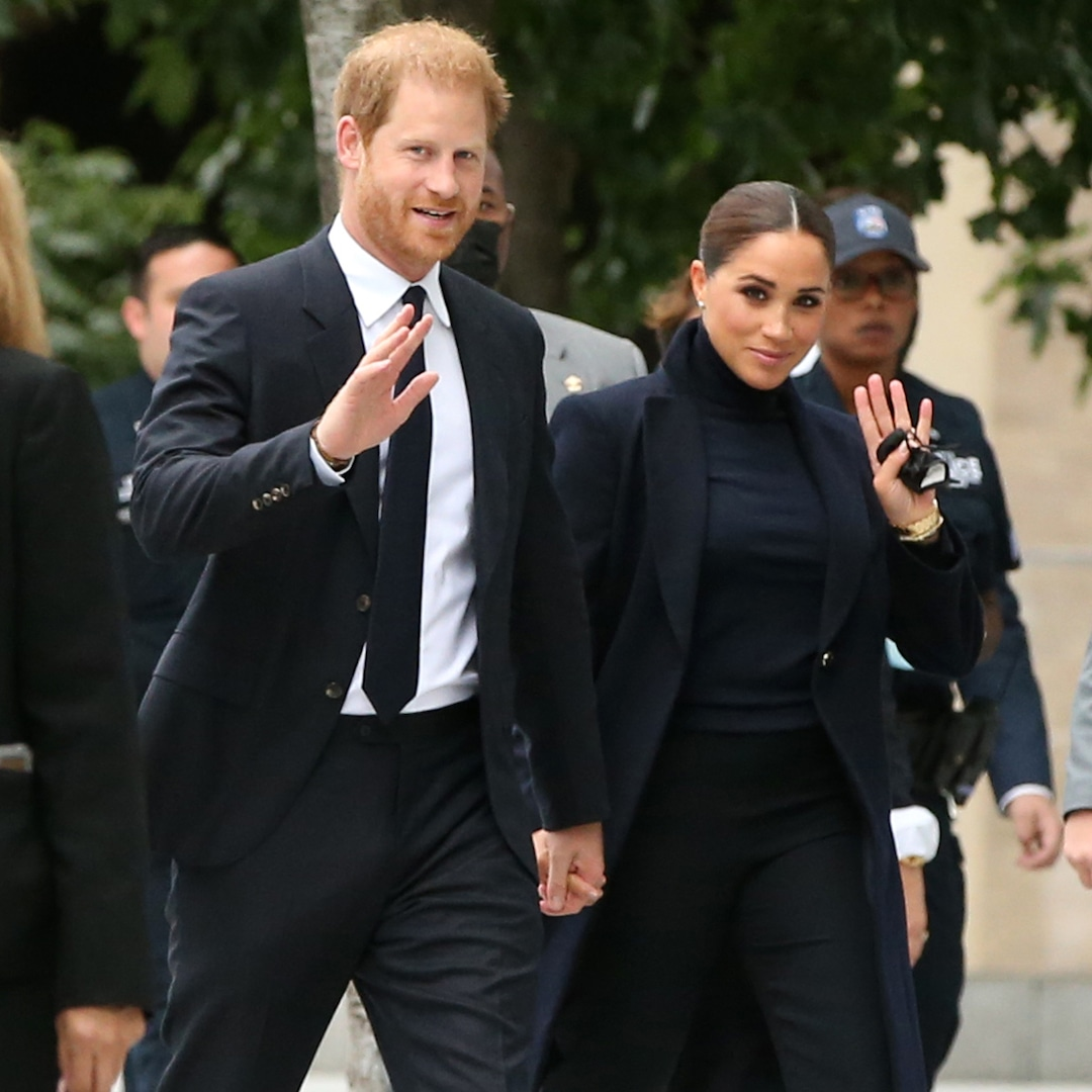Meghan Markle and Prince Harry's Rep Addresses Lilibet Christening Rumors