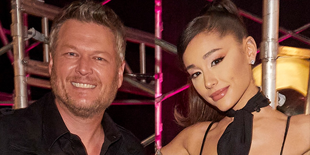 See Blake Shelton's Text to Ariana Grande After Report Claimed She's Kicking Him Off The Voice - E! Online.jpg