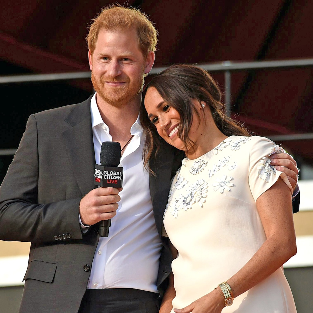Prince Harry and Meghan Markle Look Absolutely in Love at the Global Citizen Live Event