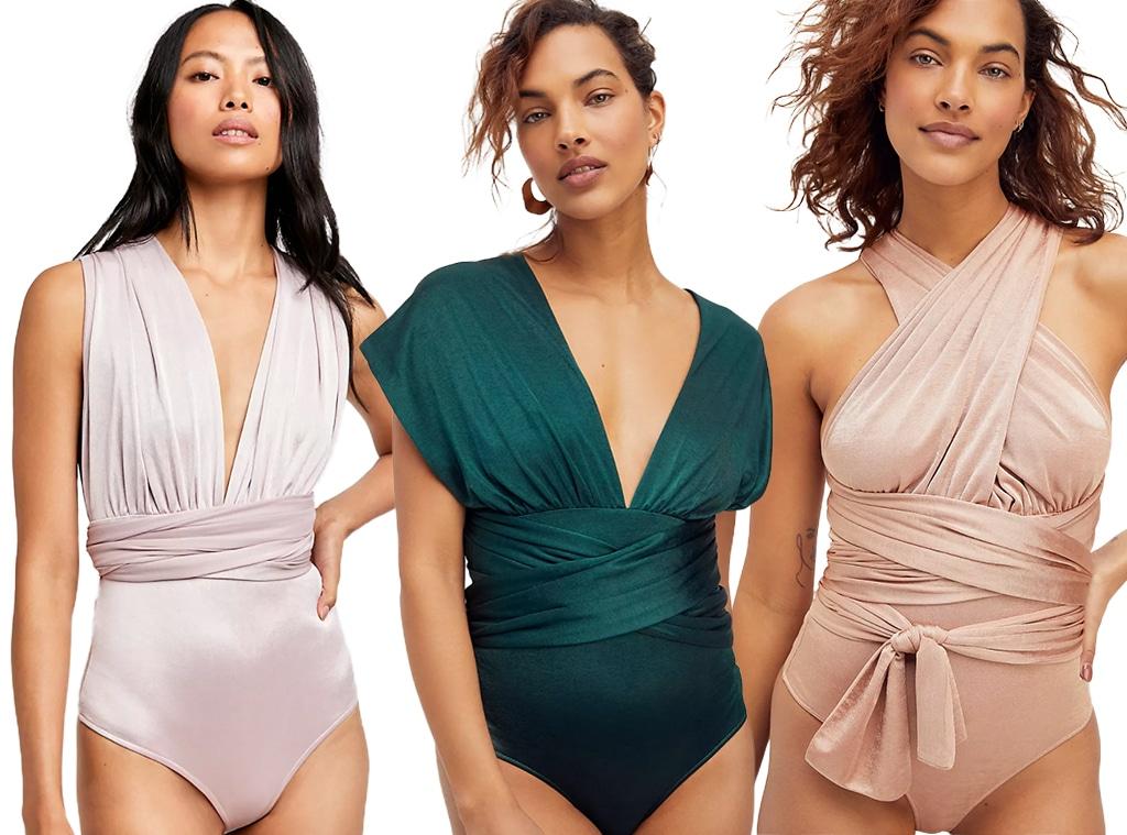 E-comm: Free People 100 Ways Bodysuit