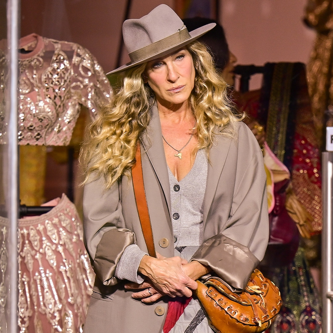 Sarah Jessica Parker Returns to Set of Sex and the City Revival After Willie Garson's Death