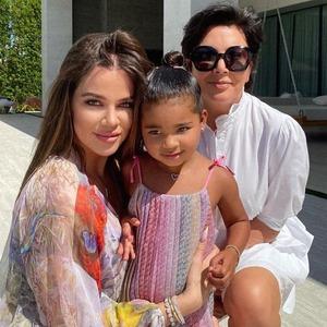 Khloe Kardashian, True Thompson, Kris Jenner, KUWTK