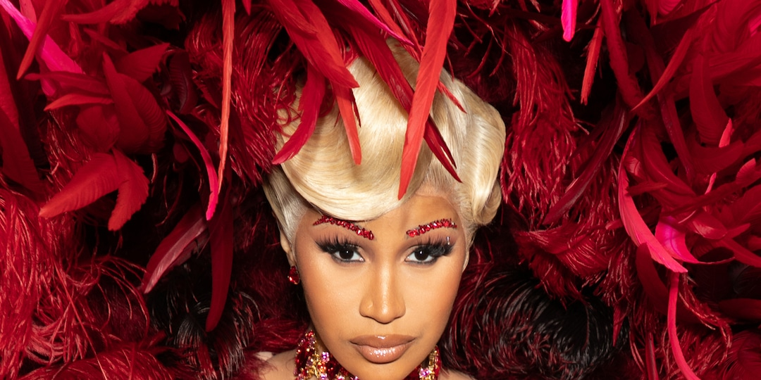 Cardi B Rocks Her Most Outrageous Look Yet on First Red Carpet Since Giving Birth - E! Online.jpg