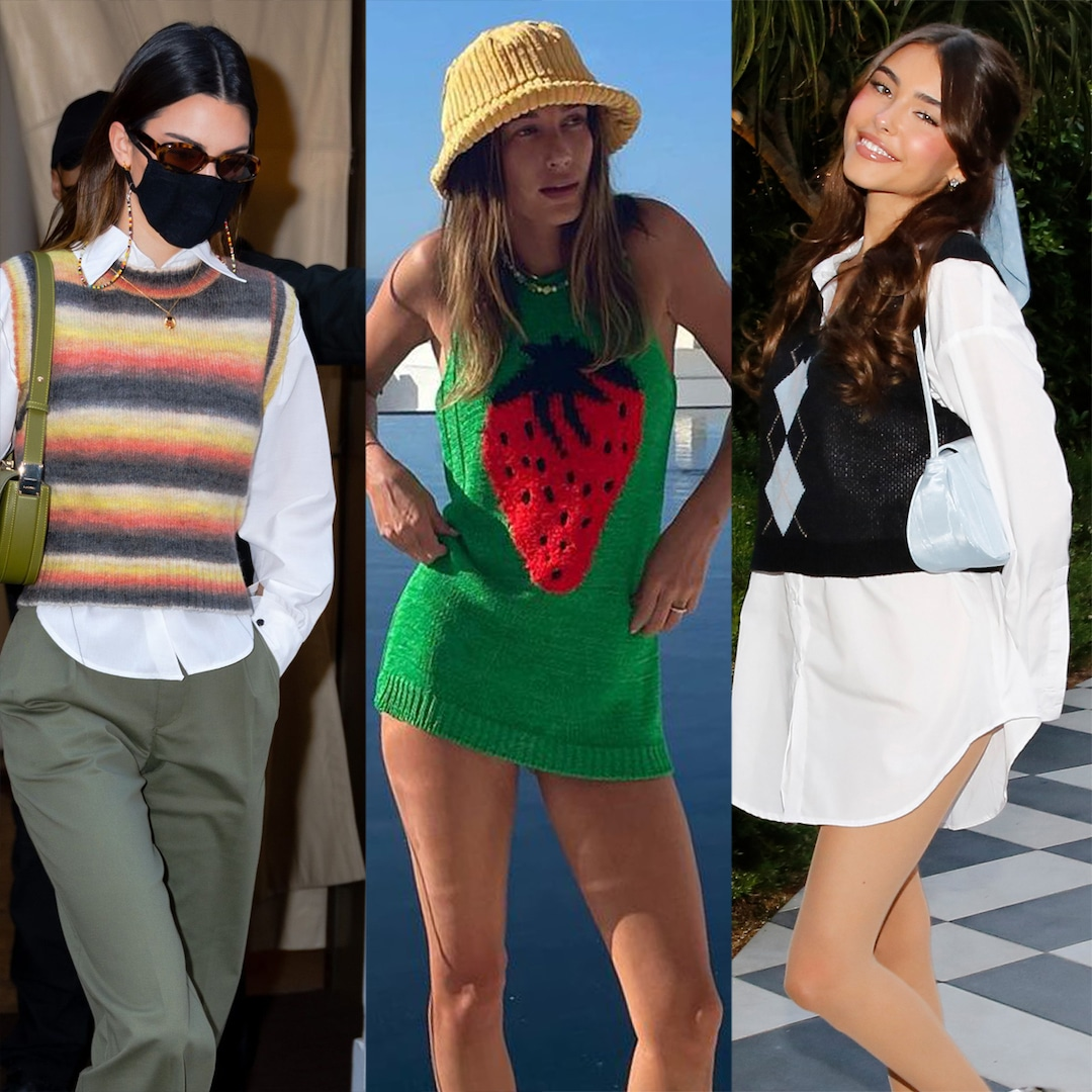 11 Ways to Wear the Sweater Vest Trend