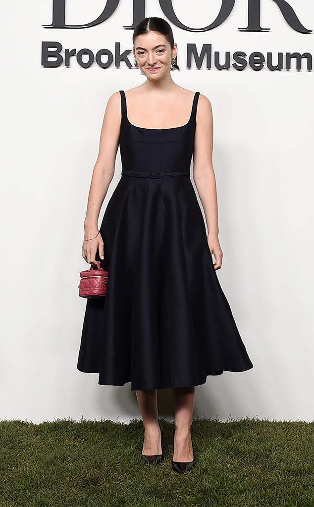 Lorde, Dior, Star sightings, celebs, NYFW, New York Fashion Week Spring-Summer 2022