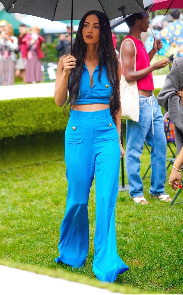 Megan Fox, star sightings, celebs, NYFW, New York Fashion Week Spring-Summer 2022