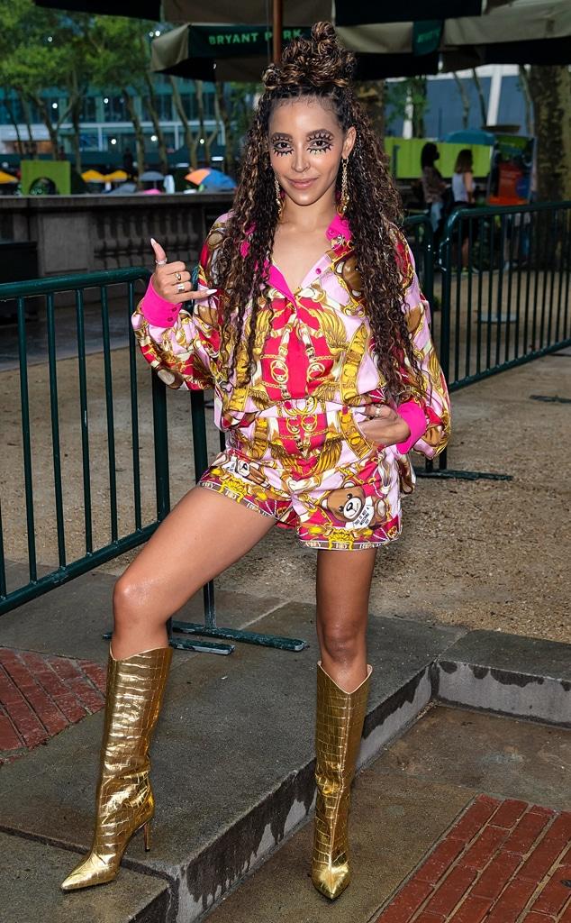 Tinashe, star sightings, celebs, NYFW, New York Fashion Week Spring-Summer 2022