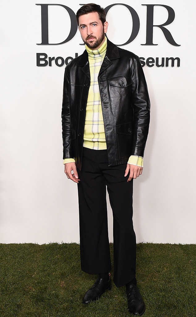 Nicholas Braun, Dior, Star sightings, celebs, NYFW, New York Fashion Week Spring-Summer 2022