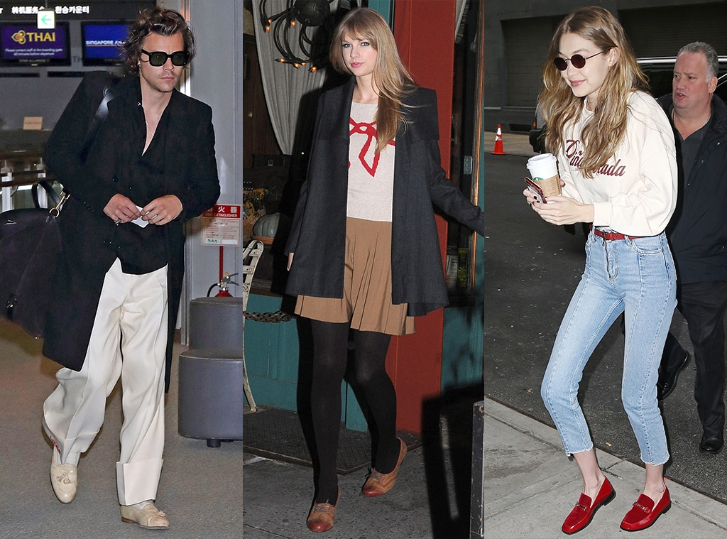 E-Comm: Oxford and Loafer Trend, Harry Styles, Taylor Swift, Gigi Hadid