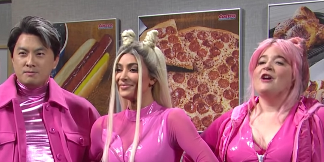 See Kim Kardashian, Aidy Bryant and Bowen Yang's Hilarious Pop Group in Unaired SNL Skit - E! Online.jpg