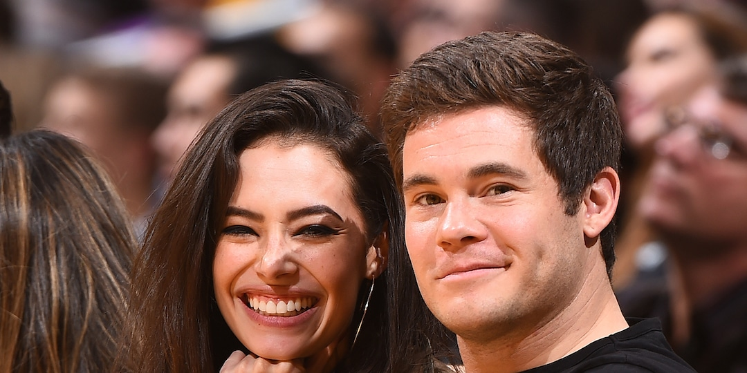 All The Most Pitch Perfect Moments in Adam DeVine's Relationship With Chloe Bridges - E! Online.jpg