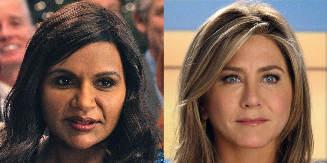 This Morning Show Scene With Jennifer Aniston & Mindy Kaling Couldn't Be More Awkward - E! Online.jpg