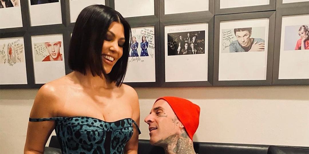 Kourtney Kardashian and Travis Barker Get Naughty Backstage at SNL - E! Online.jpg