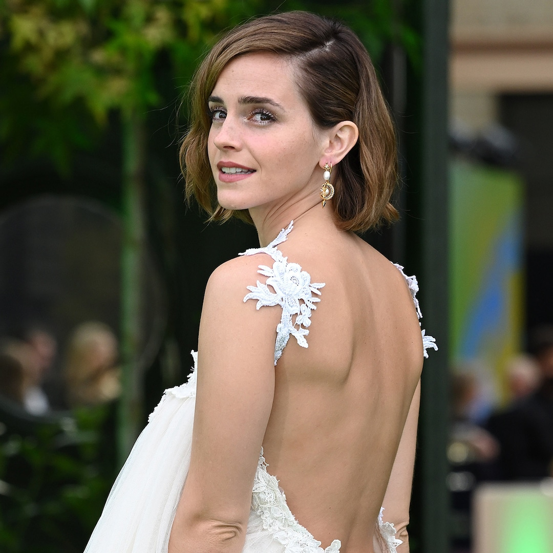 , Emma Watson Debuts Daring Style at Her First Red Carpet Event in Almost 2 Years – E! Online,