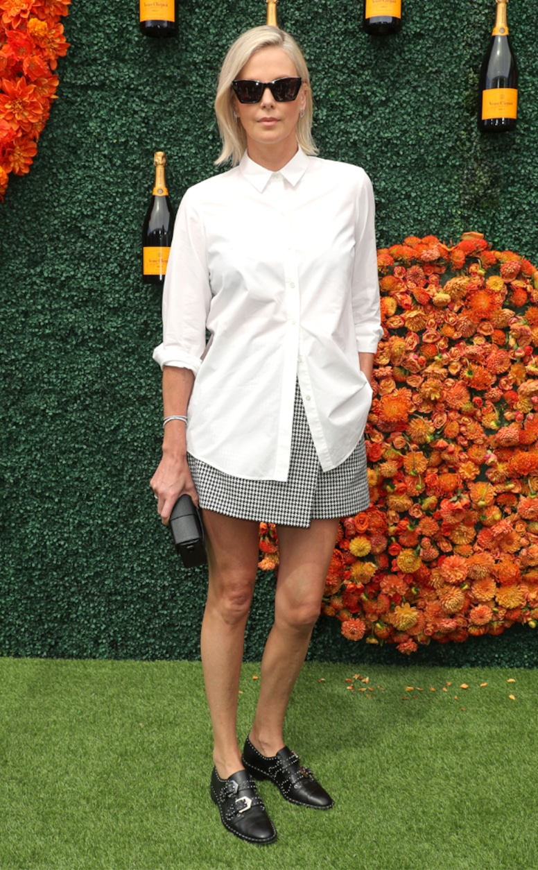 Photos from Stars Attend the 2021 Veuve Clicquot Polo Classic Event - E!  Online