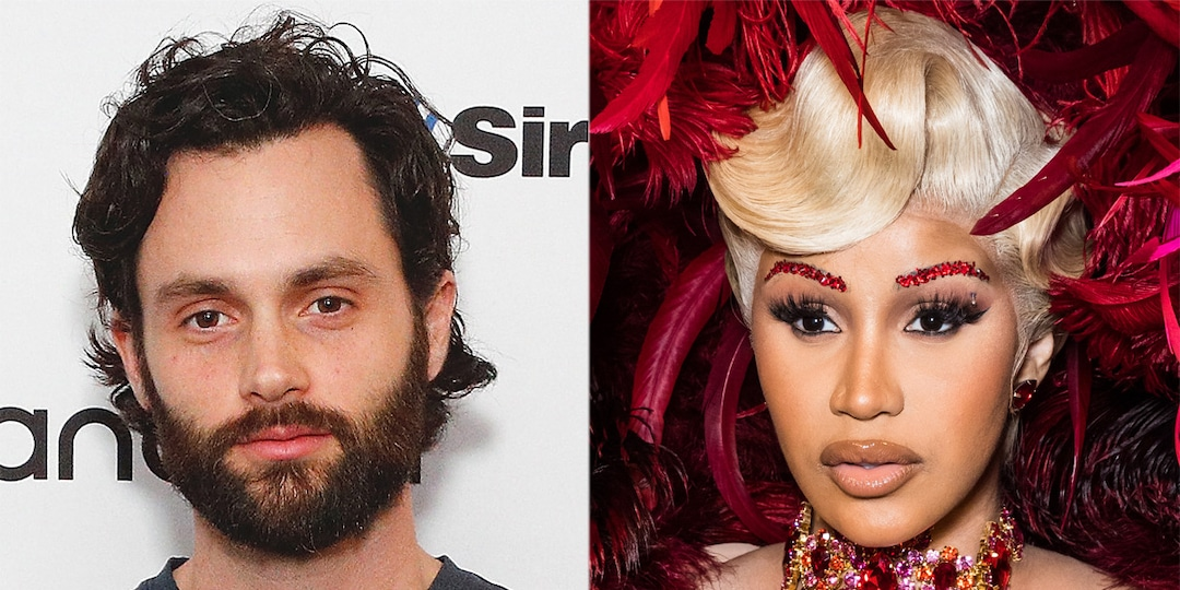 Penn Badgley and Cardi B Are the Unexpected Celebrity Friends We Needed After Watching You - E! Online.jpg